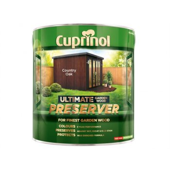 Cuprinol Ultimate Garden Wood Preserver Country Oak 4 Litre