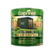 Cuprinol Ultimate Garden Wood Preserver Spruce Green 4 Litre