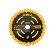 DEWALT Circular Saw Blade 165 x 20mm x 40T Cordless Extreme Framing