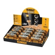 DEWALT Counter Top Display Torsion 32 Piece Screwdriving Kit x 12