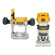 DEWALT D26204K 1/4in Premium Plunge & Fixed Base Combi Router 900 Watt 230 Volt