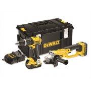 DEWALT DCK286 M2 Twin Pack Kit 18 Volt 2 x 4.0ah