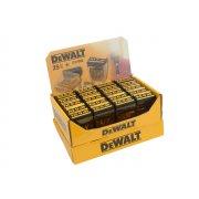 DEWALT DP40 Display Flip Top 25mm PZ2 (20 packs of 25 bits)