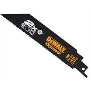 DT2407L 2X Life Reciprocating Metal Saw Blades 152mm 14/18 TPI (5)