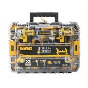 DEWALT Help For Heroes Brushless Twin Pack 18 Volt 2 x 4.0Ah Li-Ion