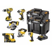 DEWALTDCK699M3T XR 6 Piece Kit 18 Volt 3 x 4.0Ah Li-Ion Model No- DCK699M3T-GB