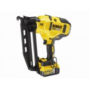 DEWALTDCN660P2 XR Brushless Second Fix Nailer 18 Volt 2 x 5.0Ah Li-Ion Model No- DCN660P2-GB