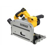 DEWALTDWS520KT Heavy-Duty Plunge Saw With Guide Rail 1300 Watt 240 Volt Model No- DWS520KT-GB