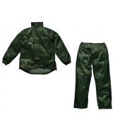 Dickies Green Vermont Waterproof Suit - L (44-46in)