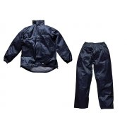 Dickies Navy Vermont Waterproof Suit - L (44-46in)