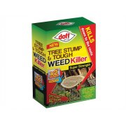 DOFF Tree Stump & Tough Weedkiller 2 Sachet