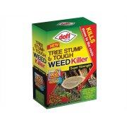 DOFF Tree Stump & Tough Weedkiller 2 Sachet