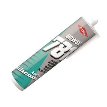 Dowsil 781 Silicone Sealant, White 310ml
