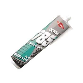 Dowsil 785 Silicone Sealant, White 310ml
