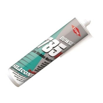Dowsil 785N Silicone Sealant, White 310ml