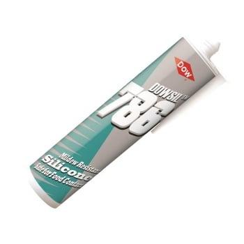 Dowsil 786 Food Grade Sealant, Clear 310ml