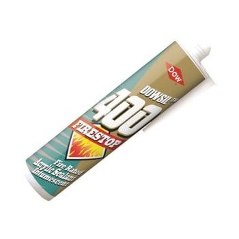 Dowsil Firestop 400 Acrylic Sealant, White 380ml