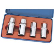 DRAPER 1/2in. Square Drive 4 Piece Stud Extractor Set: Model No.SES
