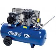 DRAPER 100L 230V 2.2kW (3hp) Belt-Driven Air Compressor: Model No.DA100/330
