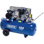 DRAPER 100L 230V 2.2kW (3hp) Belt-Driven Air Compressor: Model No.DA100/330