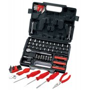 "DRAPER 105 Piece 1/4, 3/8"" Sq. Dr. Tool Kit : Model No.RL-TK105"