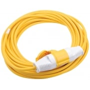 DRAPER 110V 14M x 2.5mm Extension Cable: Model No. EL110B
