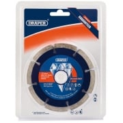 DRAPER 115 x 22.2mm Mortar Rake Diamond Blade: Model No. DBMR