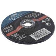 DRAPER 115 x 6 x 22.2mm Bore Depressed Centre Grinding Disc: Model No.GDM2B