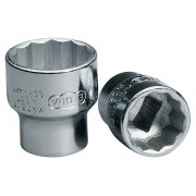 "11mm 3/8"" Square Drive Elora Bi-Hexagon Socket : Model No.870-M"