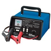 DRAPER 12/24V 10.3A Battery Charger: Model No.BCD11