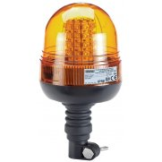 DRAPER 12/24V Flexible Spigot Base LED Beacon: Model No.RWB6