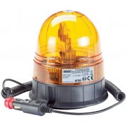 DRAPER 12/24V Magnetic Base Rotating Beacon: Model No.RWB2