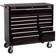 "DRAPER 12 Drawer 40"" Roller Cabinet : Model No.RC12B/40/BK"