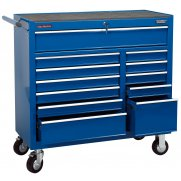 "DRAPER 12 Drawer 40"" Roller Cabinet : Model No.RC12B/40/BL"