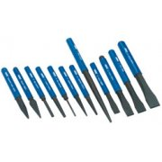 DRAPER 12 Piece Cold Chisel and Punch Set: Model No.CP12NP