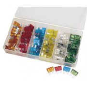 DRAPER 120 Piece Standard Automotive Plug-In Fuse Assortment: Model No.FUSE/120