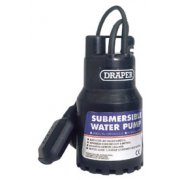 DRAPER 120L/Min 200W 110V Submersible Water Pump with 6M Lift and Float Switch: Model No.SWP120A/110