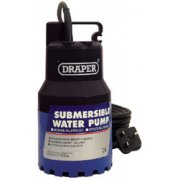 DRAPER 120L/Min 200W 230V Submersible Water Pump: Model No.SWP120
