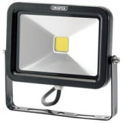 1300 Lumen COB LED Slimeline Wall Mounted Floodlights (20W): Model No. WMCL20W/B