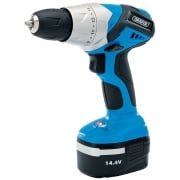 DRAPER 14.4V Cordless Rotary Drill with One Battery: Model No. CD144VB