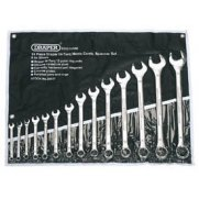 DRAPER 14 Piece Metric Combination Spanner Set: Model No.8220/14/MM