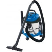 DRAPER 15L Wet and Dry Vacuum Cleaner (1250W): Model No. WDV15SS
