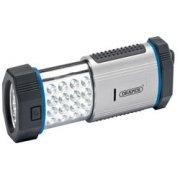DRAPER 19 LED Magnetic Worklight (3 x AAA Batteries): Model No.WL19
