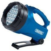DRAPER 19 LED Rechargeable Torch/Lantern: Model No.RLEDL19/B