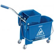 DRAPER 20L Kentucky Mop Bucket with Wringer: Model No.MBW20