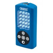 DRAPER 21 LED Worklight with Timer (4 x AAA Batteries)