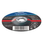 DRAPER 230 x 22.2 x 3.0mm Depressed Centre Metal Cutting Wheel: Model No.CWM2B