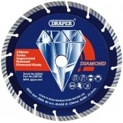 DRAPER 230 x 22.2mm Segmented Diamond Blade: Model No. DBTSR