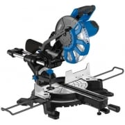 DRAPER 250mm 2000W 230V Sliding Compound Mitre Saw with Laser Cutting Guide: Model No. SMS250B