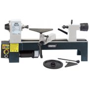 DRAPER 250W 230V Variable Speed Mini Wood Lathe : Model No.WTL330A